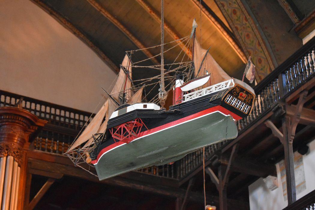 Maquette ex-voto de bateau