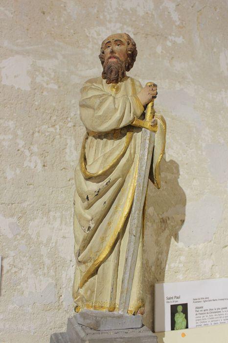 Statue (statuette) : Saint Paul