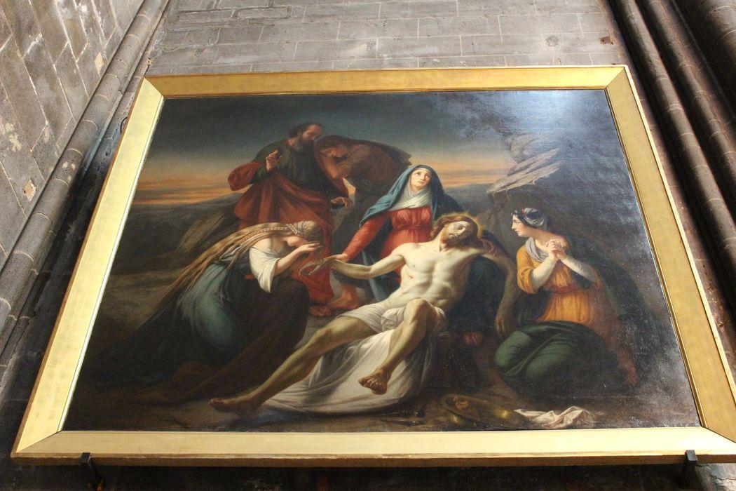 tableau : Christ remis à sa mère entre les saintes femmes et saint Jean (le), vue générale