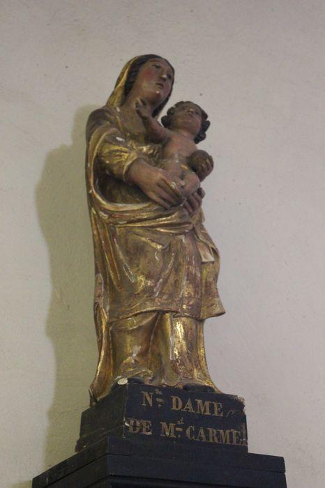 Statue : Notre-Dame du Mont Carmel