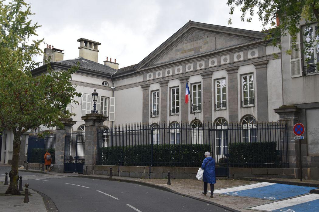 façade nord-ouest, vue générale
