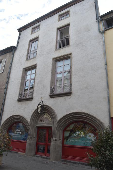 façade est, vue générale