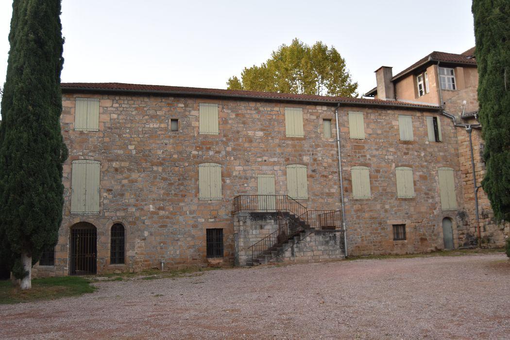 façade sud, vue générale