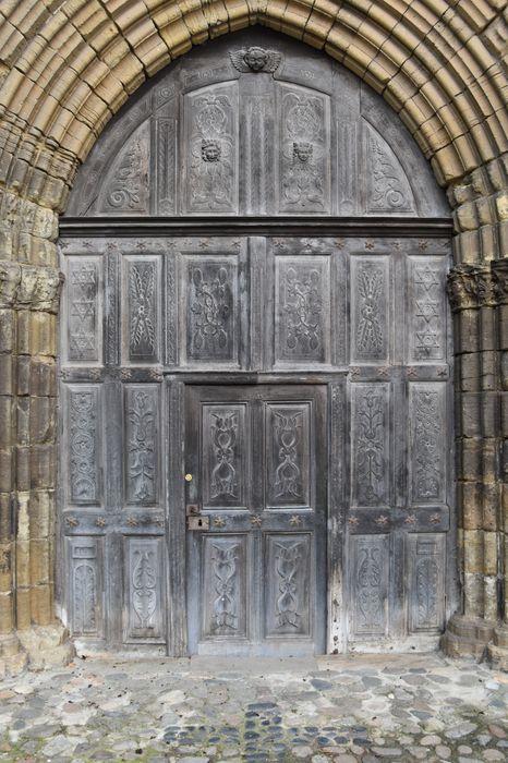 vantaux (porte septentrionale), vue générale