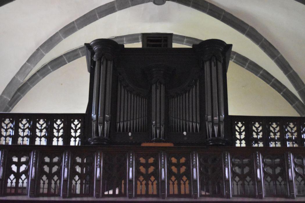 orgue, vue générale