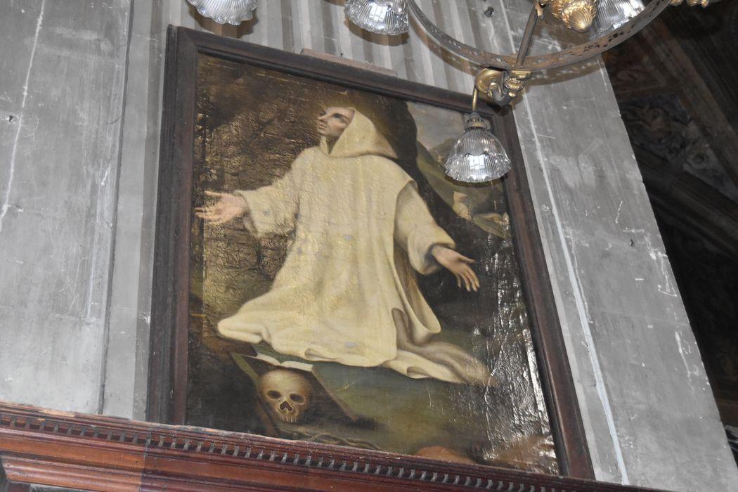 tableau : Saint Bruno en prière, vue générale