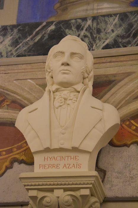 buste : Hyacinthe Pierre Azais, vue générale