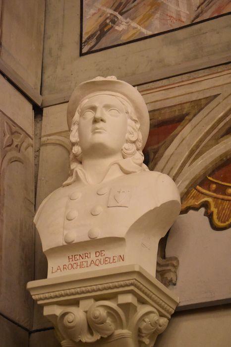Buste : Henri du Vergier