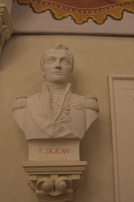 buste : Comte Dejean, vue générale