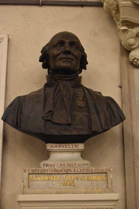 buste : N. R. Paulin, vue générale