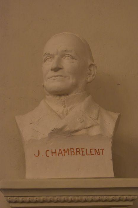 Buste : J. Chambrelent