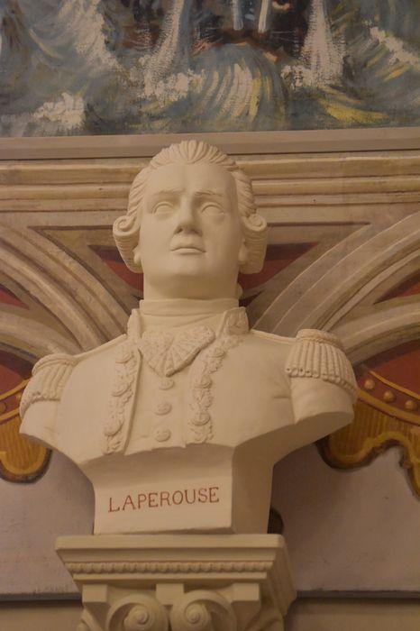 Buste : Philippe de Picot, Baron de Lapérouse