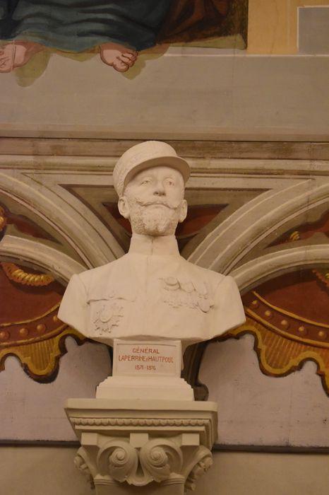 Buste : Général Laperrine d'Hautpoul