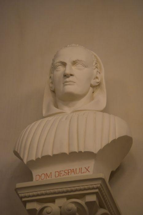 buste : Dom Raymond Despaulx, vue générale