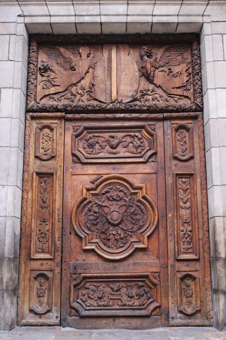 portail ouest, vue générale