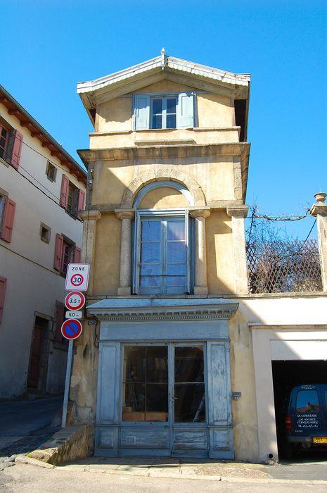 pavillon sud, façade est, vue générale