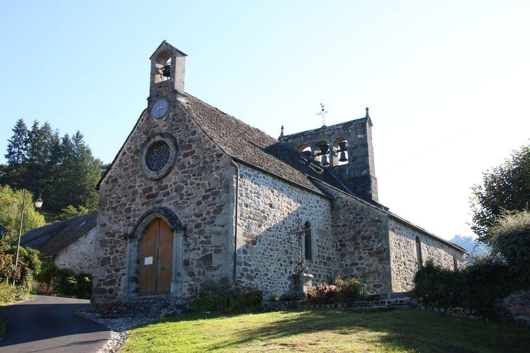 Eglise Saint-Pierre: vue générale, ensemble sud-ouest