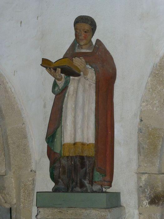 Statue : Saint Abbé, vue générale