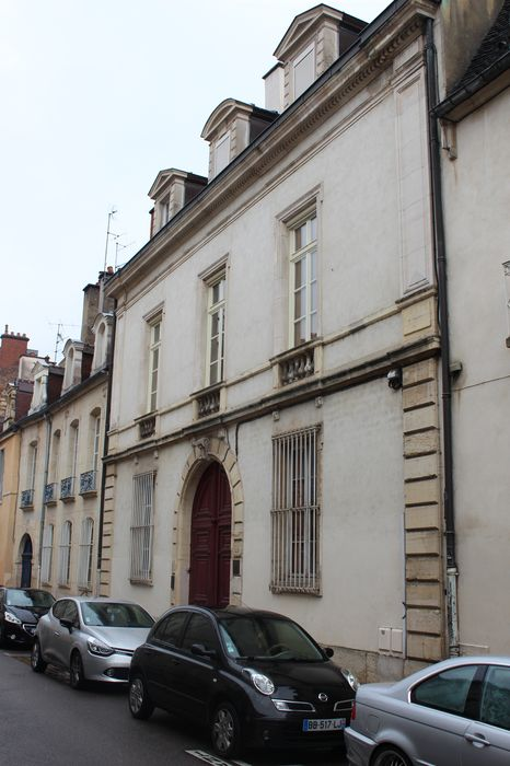 Hôtel Berbisey: Façade sur rue, vue générale