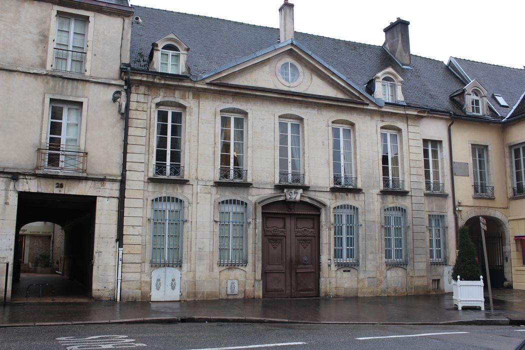 Hôtel Brûlart: Façade sur rue, vue générale