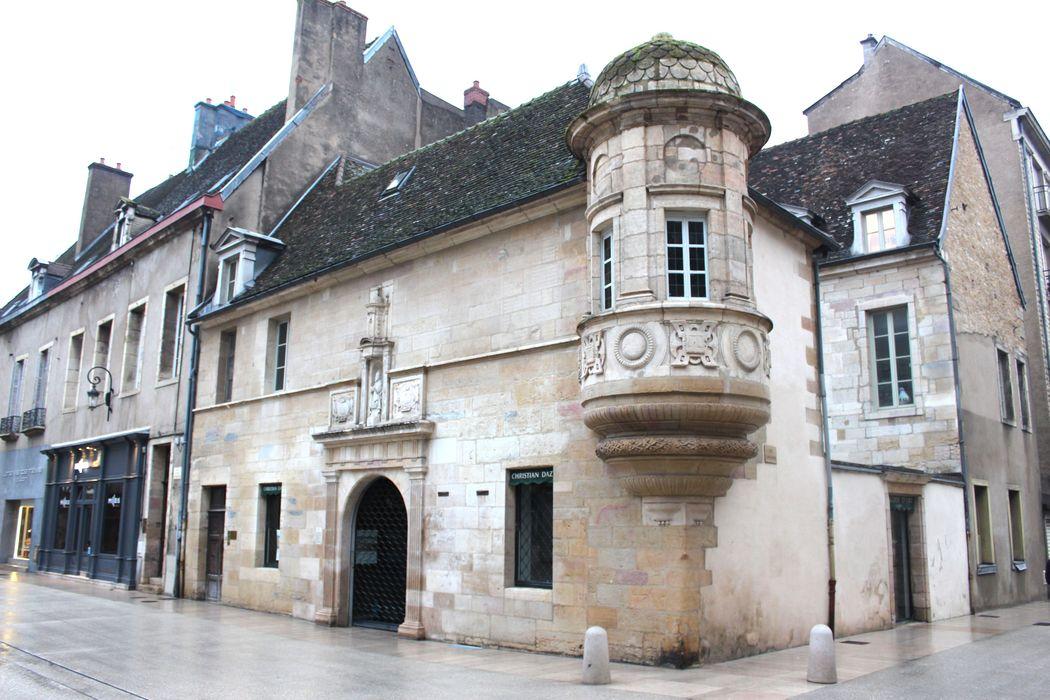 Hôtel de Berbis: Façades sur rue, vue générale