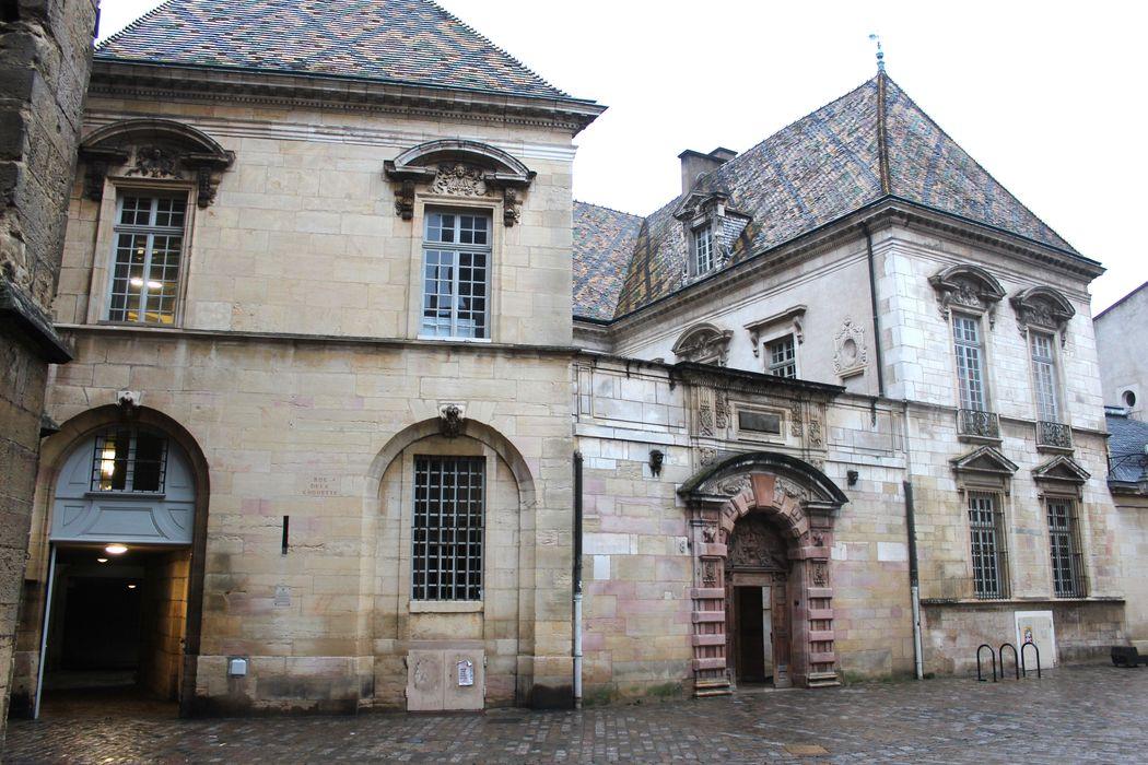 Hôtel de Vogüé: Ensemble sud, vue générale