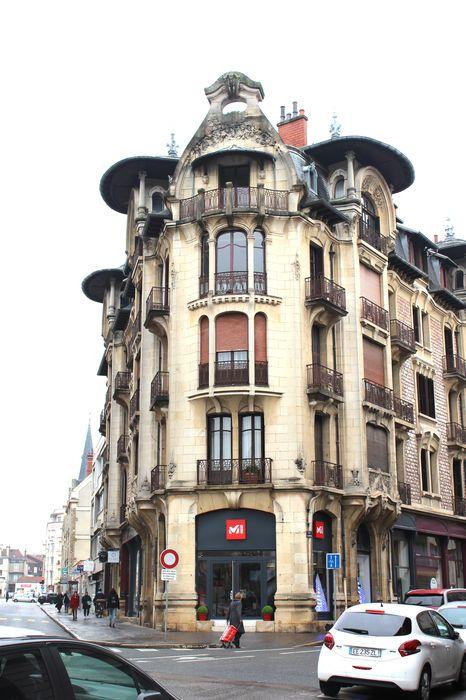 Immeuble Modern style: Façade sud, vue générale