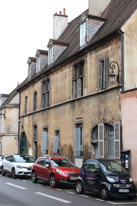 Hôtel de Noident: Façade sur rue, vue générale