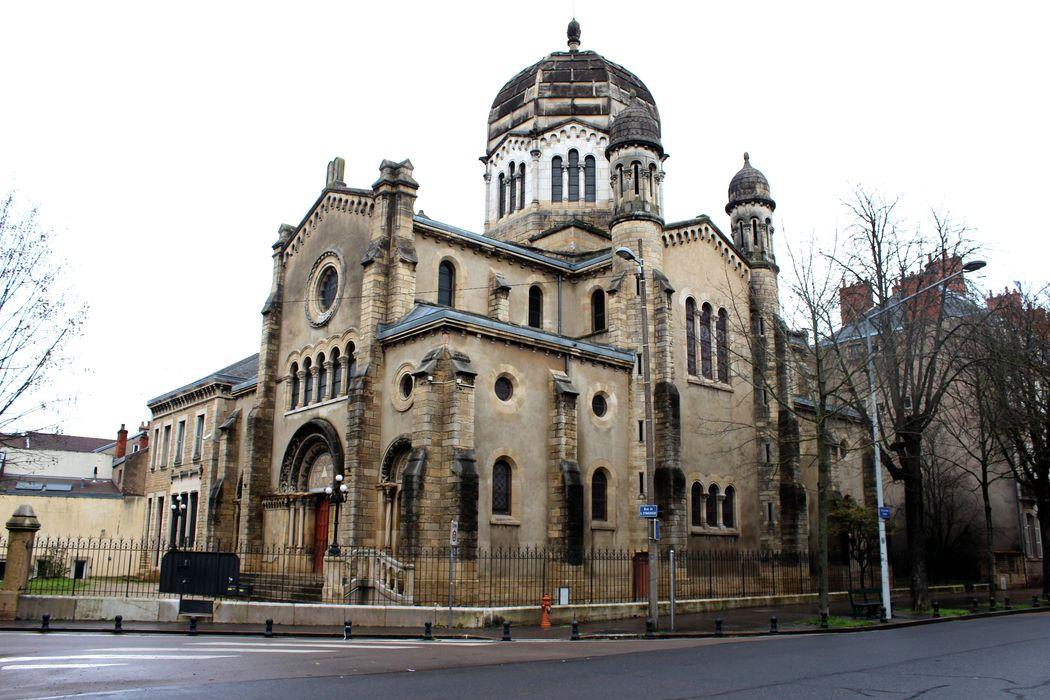 Synagogue: Ensemble sud-ouest, vue générale