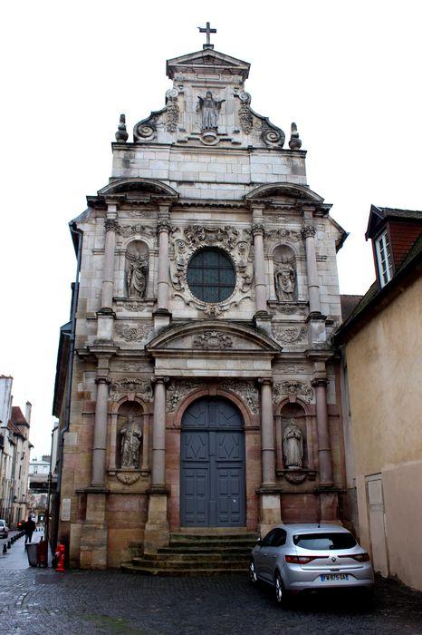 Chapelle des Carmélites (ancienne): Façade occidentale, vue générale