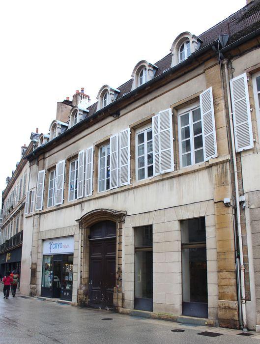 Hôtel de Thianges (ancien): Façade sur rue, vue générale