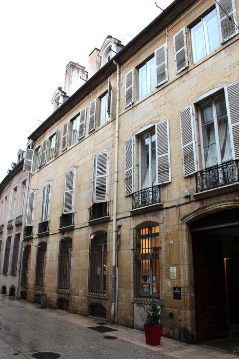 Hôtel Patarin (ancien): Façade sur rue, vue générale