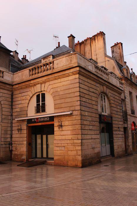 Immeuble: Vue générale des façades sur rue