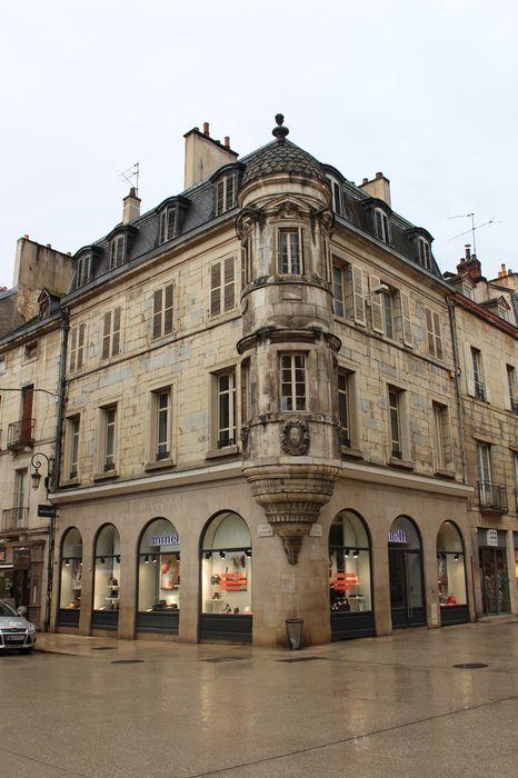 Immeuble, ancien hôtel Millière: Façades nord et est, vue générale