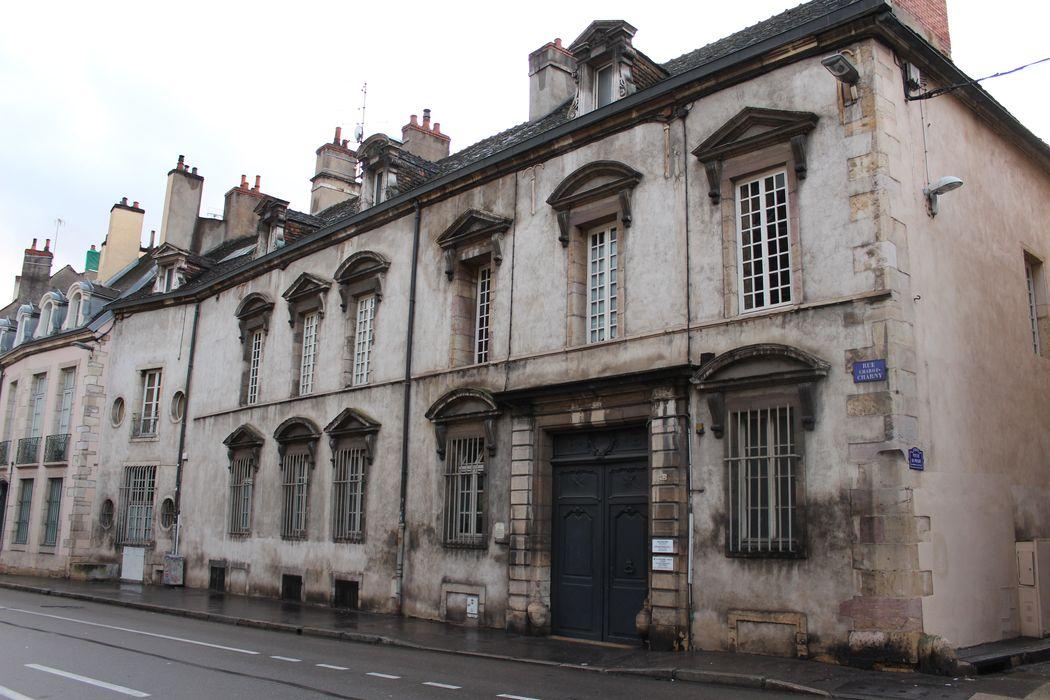 Hôtel Frantin: Façade sur rue, vue générale