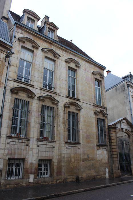 Ancien Hôtel Lemullier de Bressey: Façade sur rue, vue générale