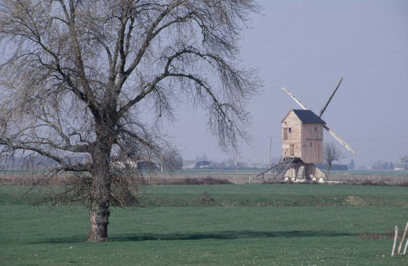 Moulin pivot dans un champ