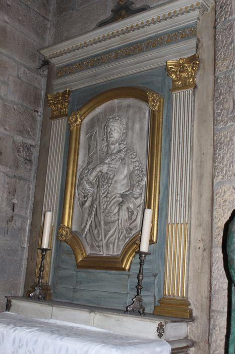 Autel et retable de la chapelle Saint-Jean-Baptiste