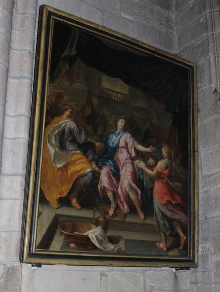 Tableau : le Festin d'Hérode