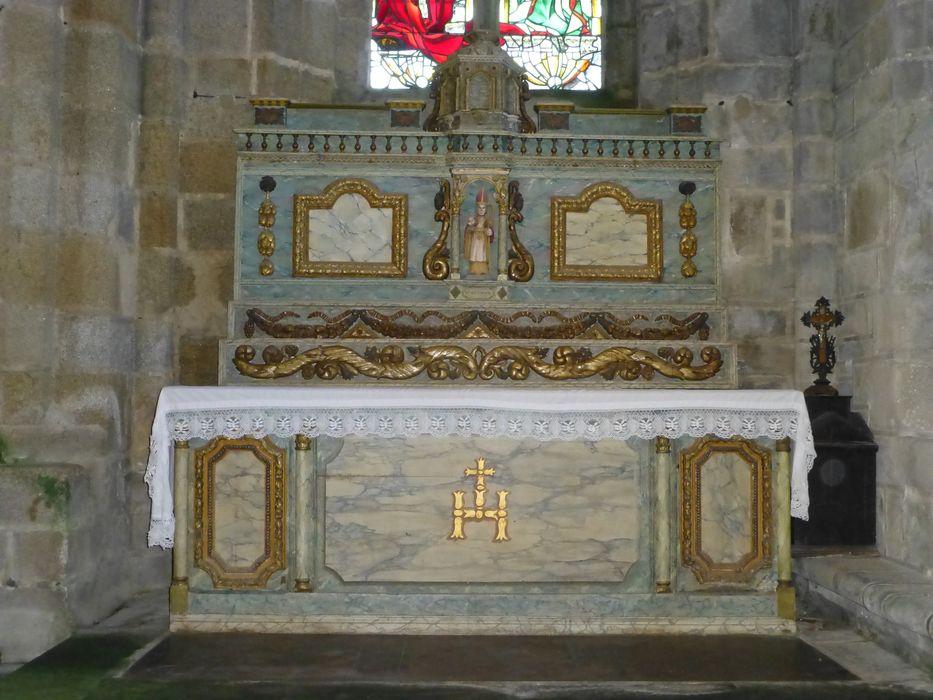 autel et retable Saint-Eutrope
