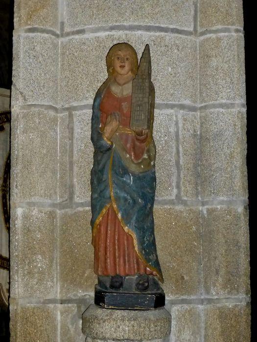 statue: Sainte Barbe