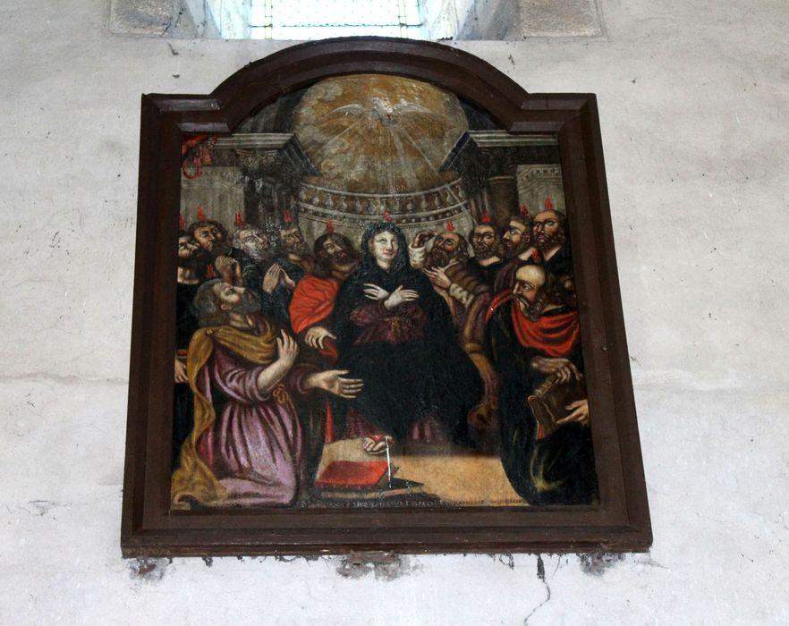 Tableau et son cadre : Pentecôte