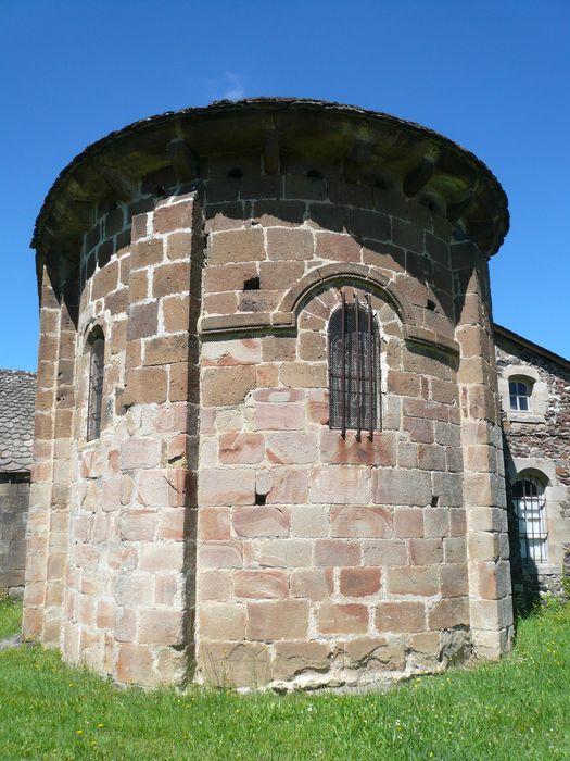 Eglise Saint-Martin: Chevet, vue générale