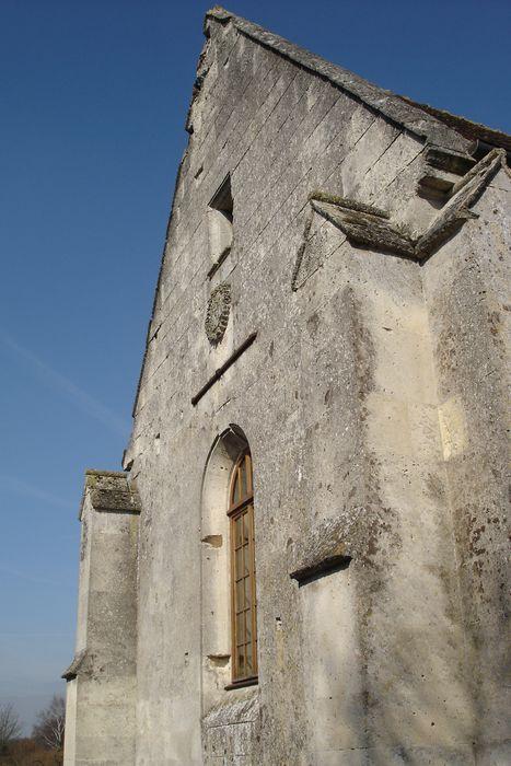 Chapelle de Chavres: Chapelle latérale sud, vue partielle