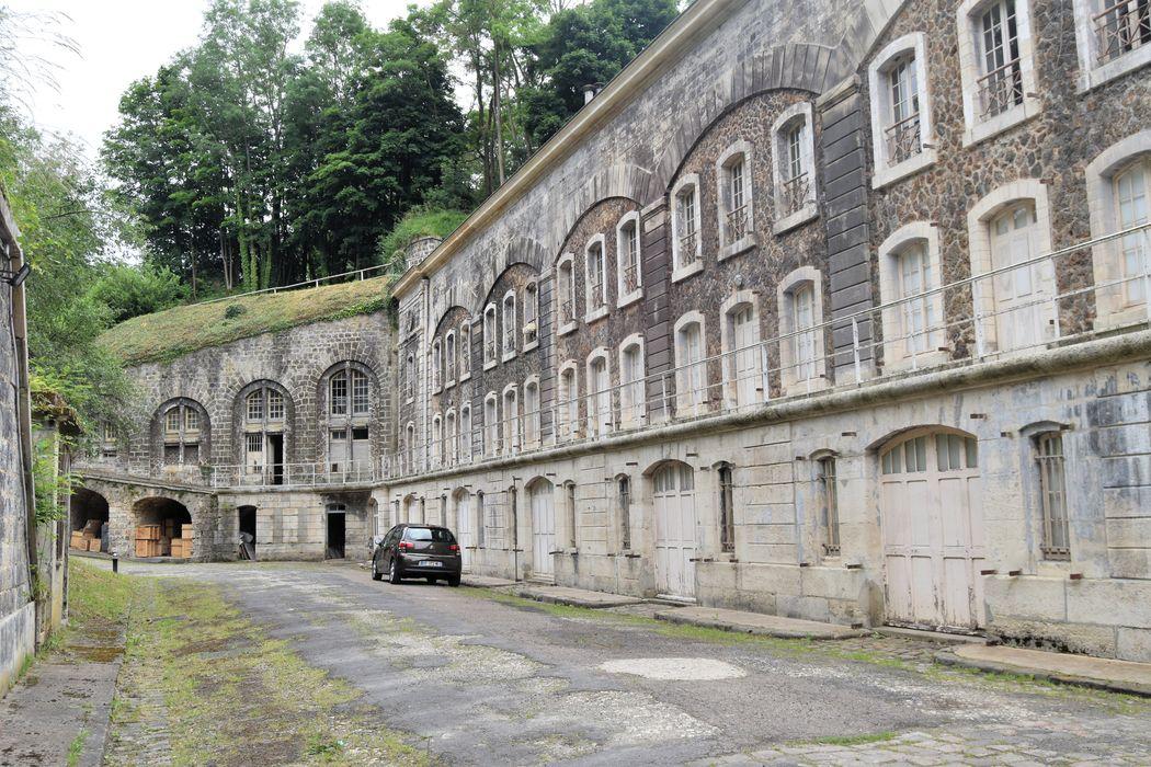 Fort de Saint-Cyr: Vue partielle du fort