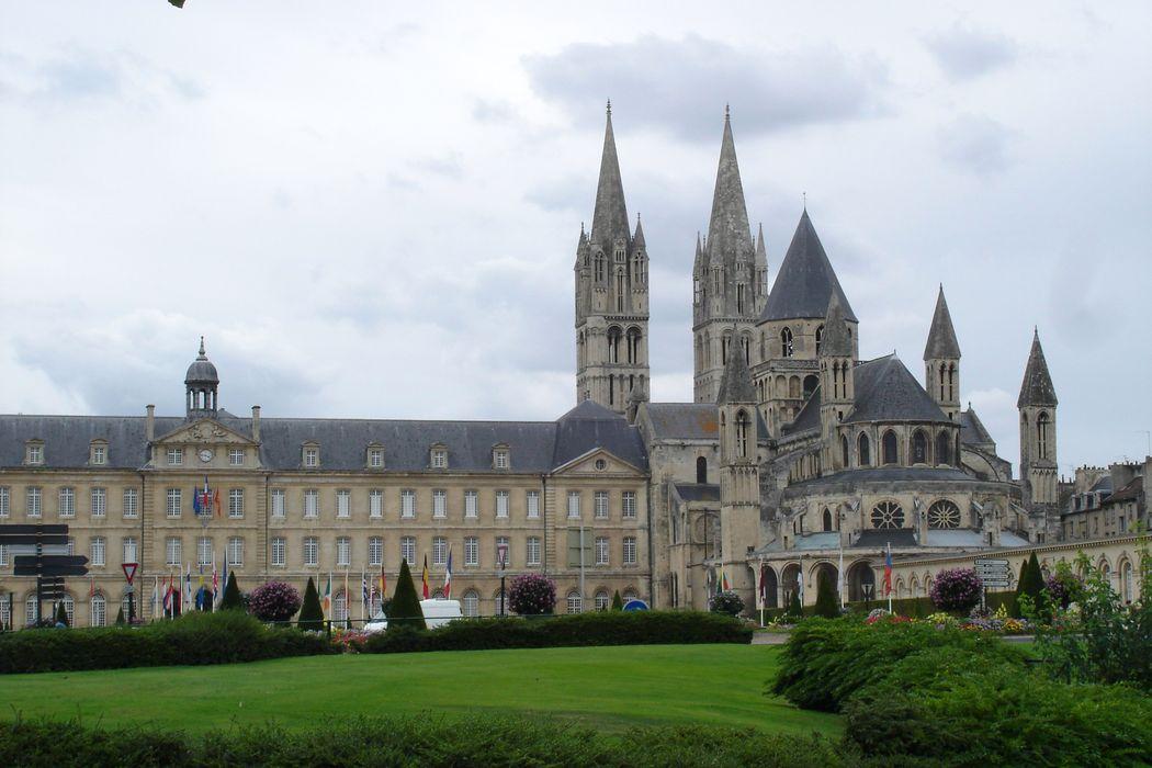 Ancienne abbaye aux Hommes: Ensemble est, vue générale