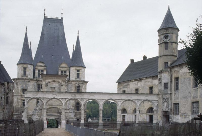 Château de Gaillon (également sur commune de Aubevoye)