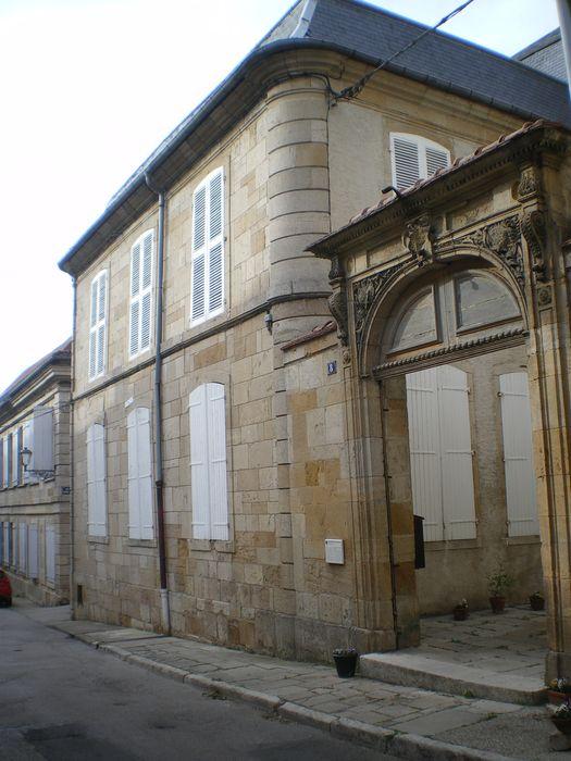 Hôtel du Gouvernement (ancien): Façade sur rue, vue partielle