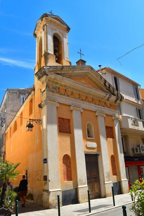 Oratoire Saint-Jean-Baptiste: Façade sud, vue générale
