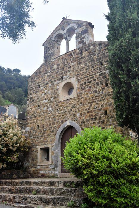 Chapelle Saint-Sébastien: Façade occidentale, vue générale